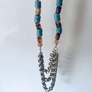Statement Anthropologie necklace